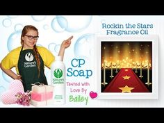 Soap Testing Rockin the Stars Fragrance Oil- Natures Garden #naturesgarden #soapmaking #cpsoaptesting #rockinthestarsfragrance #ngfragranceoils