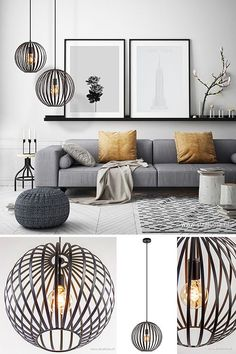 This can be nicely combined in various as . - This one lamp is nice to combine in various # living styles as - Home Living Room, Interior Design Living Room, Living Room Designs, Simple Living Room Decor, Bedroom Decor, Home Decor, Inspiration, Grey Lounge, Living Styles