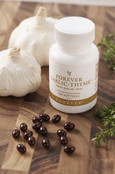 Thymian und Knoblauch 2 starke Antioxidantien