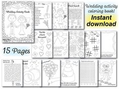 Best Wedding Coloring Book Download