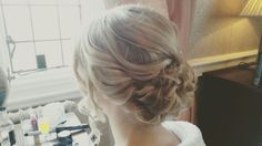 Bridal hair by Taryn's Freelance Hair  www.weddinghairdresser.moonfruit.com  Taryn.williams@sky.com  #hairup #bridalhair #hairstyle #wedding #weddinghair #curls #haircurl #bridal #bridesmaid #hair #hairstyle #hairstylist #hairupdo #weddingseason #weddingstyle #hairart #weddedwonderland #partyhair #bridetobe #weddingdayinspiration