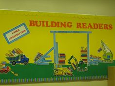 Construction Theme Readers boards