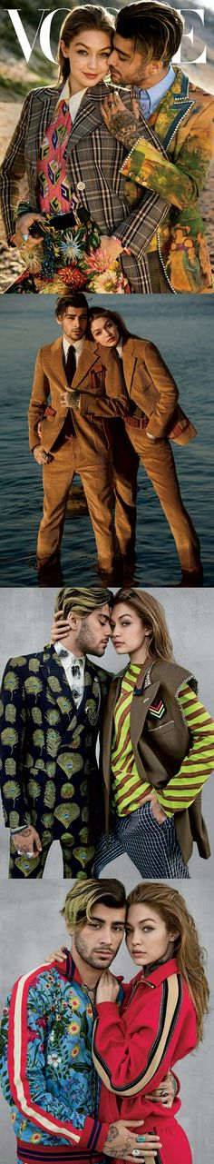 Zayn and Gigi #vogue