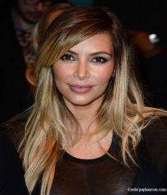 Kim Kardashian Long Hair Styles 2014