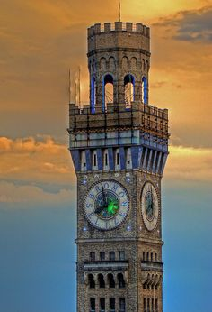 Emerson Bromo-Seltzer Tower, Baltimore, Maryland