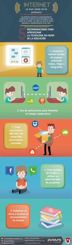 5 Actividades que Internet puede Potenciar en el Aula | #Infografía #Educación. Mucho más sobre formación TIC en www.solerplanet.com