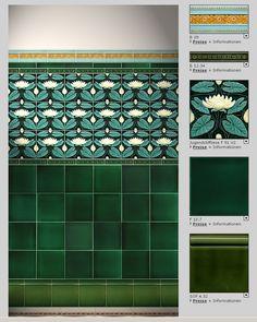 Beautiful Interior Design, Room Interior Design, Interior Decorating, Tile Art, Mosaic Tiles, Porch Tile, Terrace Decor, Bohemian Bathroom, Art Nouveau Tiles