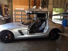 Awesome Mercedes Gull Wing at Don's