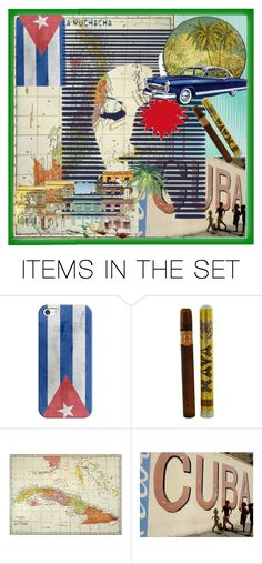 """""""Cuba Collage"""" by kyckastra ❤ liked on Polyvore featuring art"""