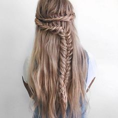 Braids hairstyle is always fun to have. Many people choose braids hair styles to look different and classy. For getting rid of your boredom on your favorite braid hairstyle you can make some changes. Read this post below. I have made this post by highlighting 20 stylists braid hairstyle idea for the braid lover. #hairstraightenerbeauty #BraidsHairstyleForLongHair #BraidsHairstyleForLongHairhalfup