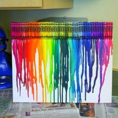 My Crayon Art :)