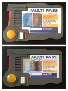 Great for all the cosplay couples out there or just as a fun souvenir!!  PACKAGE INCLUDES: 1 Leeloo Dallas Multipass 1 Korben Dallas Multipass  FREE SHIPPING WITHIN THE USA! :D  This option is NON-customizeable.  *A customizable option is also available in my shop!*