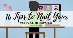 16 Tips to Nail Your Virtual Interview! | Miss P's Style