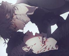 Aesop x Eli Identity Quotes, Identity Art, Anime W, Hot Anime Guys, Akira Kurusu, Sad Art, Cute Gay, Pretty Art, Animes Wallpapers