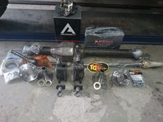 Front SAS, Front Range Diamond Axle and chromoly axle parts from Trail-Gear, ARB , Nitro Gear  http://www.4x4back2nature.com
