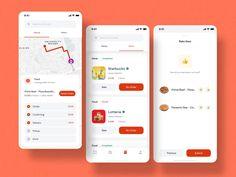 Ios 7 Design, Design Android, Design Design, Design Layouts, Graphic Design, Flat Design, Mobile App Design, Mobile App Ui, Dashboard Mobile