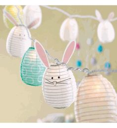 Bunny Party String Lights