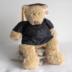 Flapjack Lane   Beachball Bear Is A Large Beige Teddy Bear Who Wears A  Graduation Outfit. You Can Personalise Flapjack Lane   Beachball Bearu0027s  Graduation ...