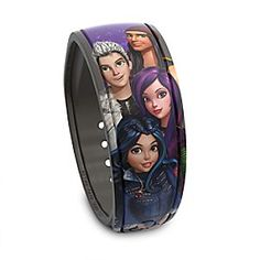Descendants Disney Parks MagicBand | Disney Store Transform your day at <i>Walt Disney World</i> Resort wearing this deliciously dark <i>Descendants</i> MagicBand. With a simple touch, redeem FastPass+ selections, enter parks, charge purchases to your room, and more! Descendants Music, Descendants Wicked World, Disney Channel Descendants, Spy Girl, Anne Mcclain, Girls Tumbler, Disney Magic Bands, Disney Parks, Walt Disney