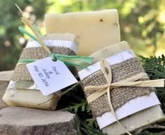 Spa Soap - Peppermint Tree Tea Soap Bar for Bridal Showers