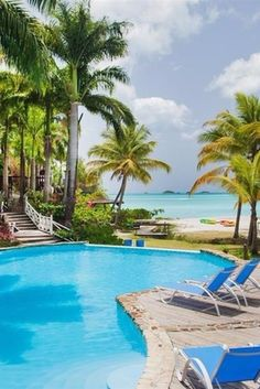 It's adult-only bliss at this secluded pool.  COCOS Hotel (Antigua) - Jetsetter