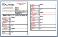 Homeschool High School Report Card Template