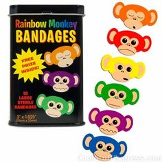 Rainbow Monkeys