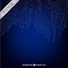 Electronic powerpoint template is a blue template for powerpoint fond sombre de la technologie vecteur gratuit toneelgroepblik Choice Image