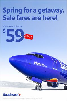 """With fares as low as $59, now is the time to book your """"spring dream"""" destination! Whether you're looking for an offbeat adventure to boost your social currency or exploring ideal honeymoon destinations, this sale could be the perfect start to that story you never want to end."""
