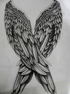 Imagem via We Heart It https://weheartit.com/entry/154793871/via/15036669 #Alas #angel #art #arte #dibujo #drawing #pencil #wings #lápiz