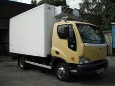 DAEWOO D75 4x2 Refrigerated Box Van Diesel - http://tractorsforsales.com/daewoo-d75-4x2-refrigerated-box-van-diesel/