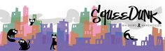 Blog header for @Squeedunk Cats. Whiskers & Warehouses.