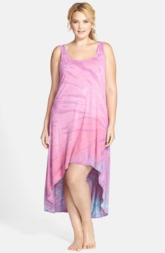 #HardTailForever Hard Tail Sleeveless High/Low Dress (Plus Size)