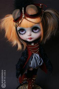 Rogue Dolls Blythe - Steampunk.