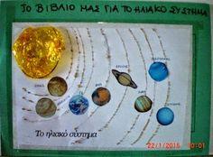 Πυθαγόρειο Νηπιαγωγείο: ΔΙΑΣΤΗΜΑ Solar System, Washer Necklace, Projects To Try, Geography, Jewelry, Astronomy, Science, Space, Universe