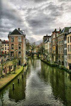 View of Utrecht in Holland