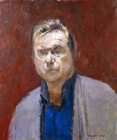 Francis Bacon by Ruskin Spear. Oil on board, 1984. National Portrait Gallery…