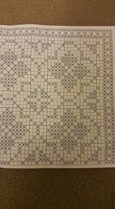 Filet Crochet, Crochet Cross, Crochet Chart, Crochet Stitches, Crochet Curtains, Crochet Tablecloth, Tapestry Crochet, Cross Stitching, Cross Stitch Embroidery