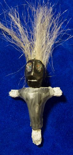 New Orleans Style Voodoo Doll pendant real Yak by MonkeyDungeon, $29.00