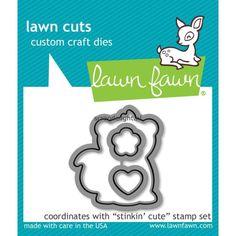 Lawn Fawn craft die: Stinkin Cute