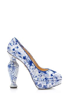 Koi Printed Patent-Leather Platform Pumps by Charlotte Olympia - Moda Operandi, How would you style this shoe? http://keep.com/koi-printed-patent-leather-platform-pumps-by-charlotte-olympia-moda-operandi-by-dalabooh/k/1synQ2gBN2/
