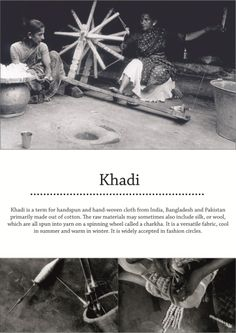 Khadi Weaving & Finished Products