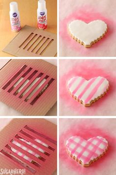 How to Make Brown Butter Heart Cookies - brown butter sugar cookies for Valentine's Day | From SugarHero.com