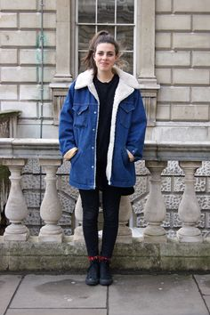 Winter street style: London does it best! Photos by Libby Banks