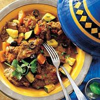 marokkaans rundvlees met pompoen Tajine Le Creuset, Couscous, Tajin Recipes, Moroccan Dishes, Middle Eastern Recipes, Recipes From Heaven, Different Recipes, No Cook Meals, Soul Food