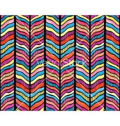 Seamless watercolor chevron pattern vector by Jallom on VectorStock®