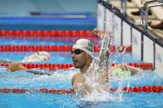 Dias does the triple, Perales wins backstroke gold 16.09.2016 On another record-breaking night in the pool there were also first golds of Rio 2016 for Czech Republic and Hungary Daniel Dias wins backstroke gold Rio 2016