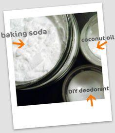On Becoming a Hippie: DIY Deodorant | Jellibean Journals...  Easy diy deodorant