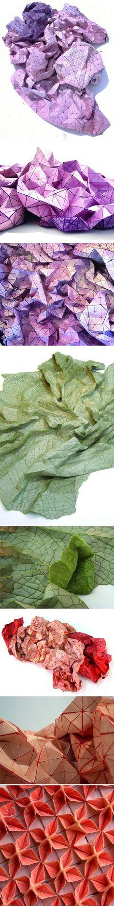 annsunwoo Memory of Skin (CAA) paper, 2013 Paper Art - bambus mobel design siam kollektion sicis bilder