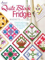 Quilt Block Fridgie Magnets. Small quilt ideas ~!~
